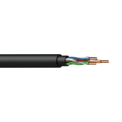 Procab BCT50U/1 Networking cable - CAT5E - U/UTP - flex 0.22 mm? - 24 AWG - HighFlex™ 100 m woo