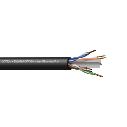 Procab CCT60U-B2CA/3 Networking cable - CAT6 - U/UTP - solid 0.25 mm? - 23 AWG - EN50399 CPR Eur