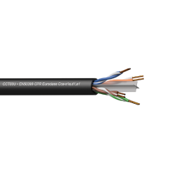 Procab CCT60U-CCA/3 Networking cable - CAT6 - U/UTP - solid 0.25 mm? - 23 AWG - EN50399 CPR Euro