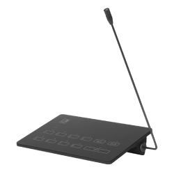 AUDAC MPX88 SurfaceTouch™ paging microphone 8 zones