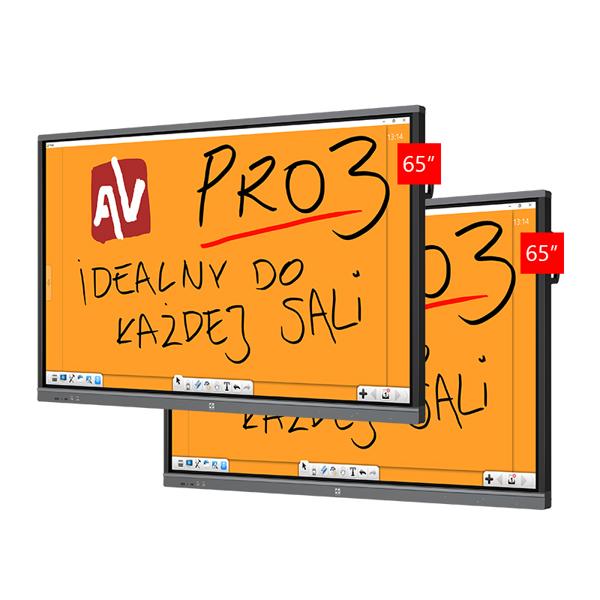 Zestaw Monitor 3.2 (2x Avtek TouchScreen 5 Lite 65)