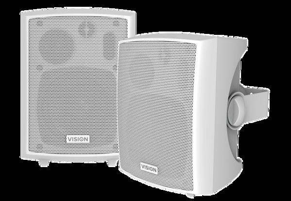 Głośniki pasywne Vision SP-1800 (2x25W) Białe