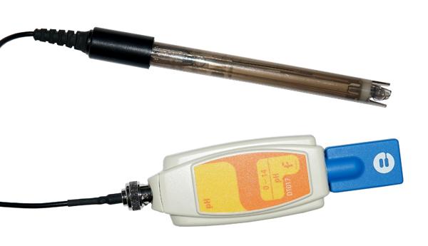 Czujnik pH z normalną elektrodą z adapterem