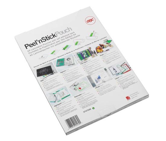 Folia Peel-n Stick Pouch A4 2x75mic poł