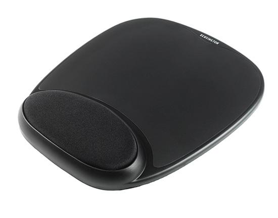 Żelowa podkładka pod mysz i nadgarstek Gel Mouse Pad (Czarna)