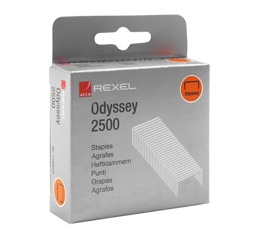 Zszywki Odyssey (9mm), 2500 szt.