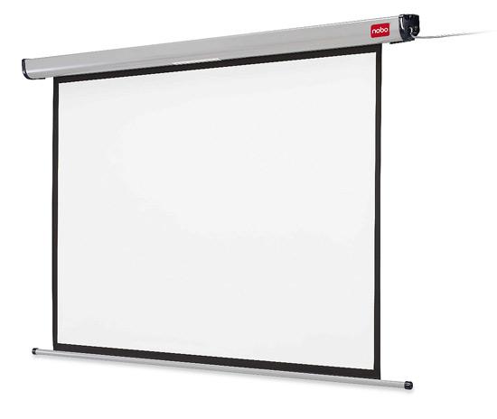 Ekran elektr. NOBO - przekątna 240 cm