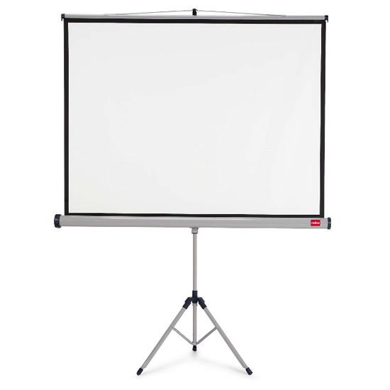 Ekran na trójnogu NOBO 150x113,8cm (B)